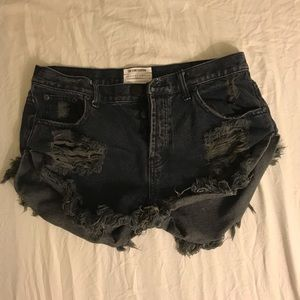 One X One teaspoon BANDIT shorts (for Free People)